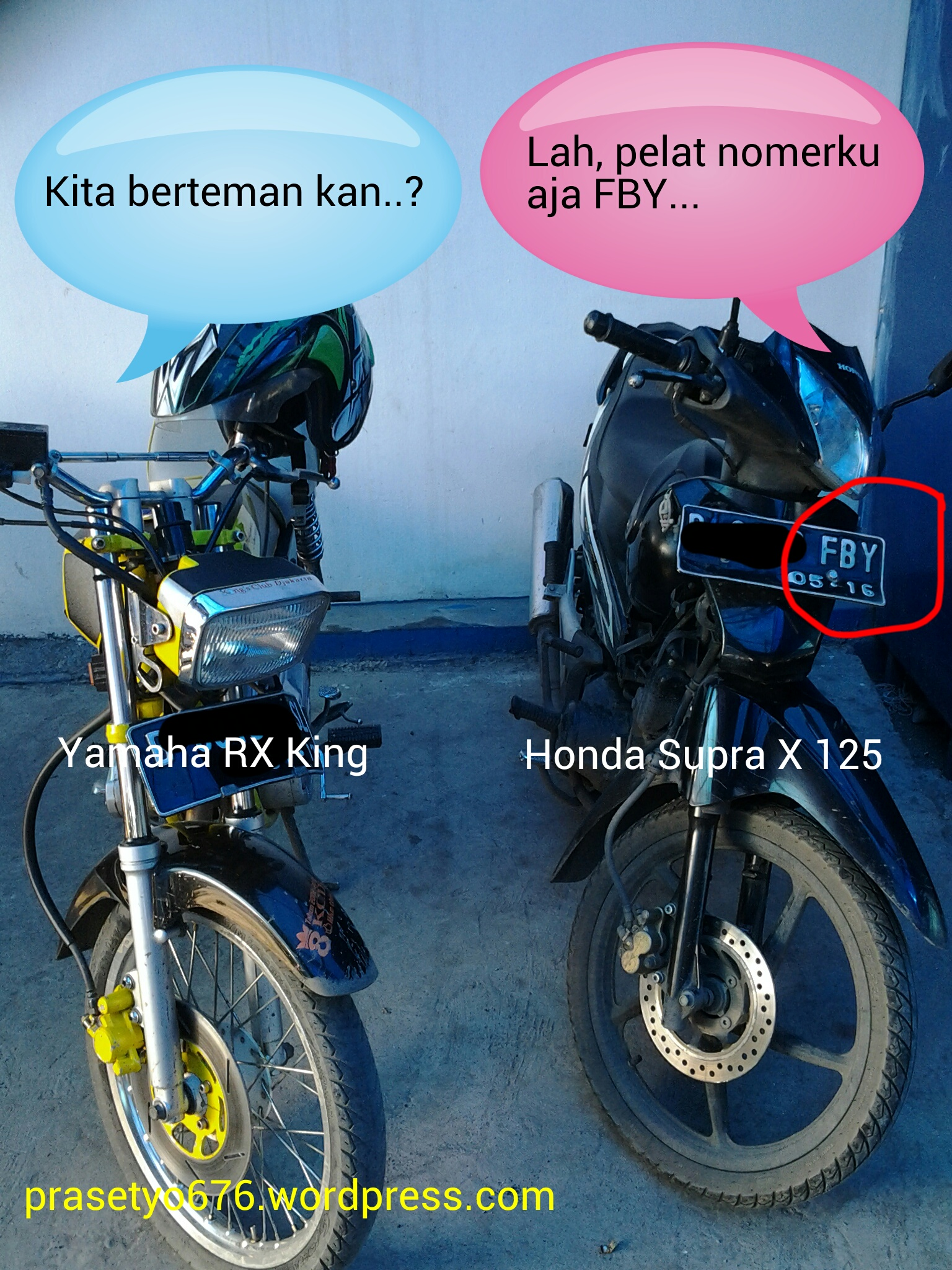 Saat Motor Legendaris Dari Honda Dan Yamaha Bersanding